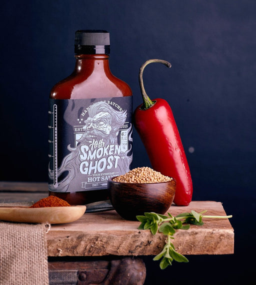 Smoken Ghost Ghost Pepper Hot Sauce - Off The Grid Collective