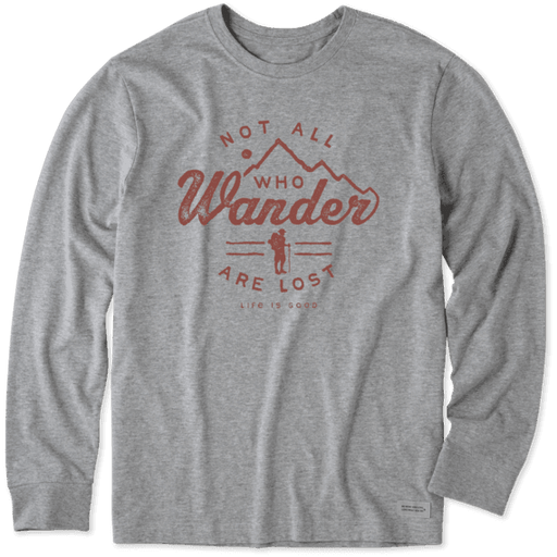 Wander Hike Long Sleeve Crusher Tee - Off The Grid Collective