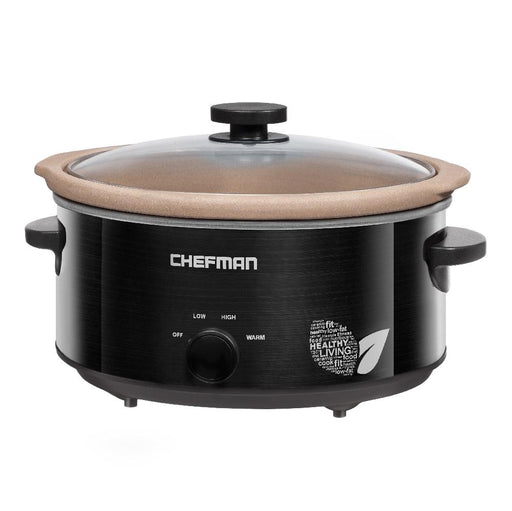 Chefman 5 Quart Oval  All Natrual Slow Cooker - Off The Grid Collective