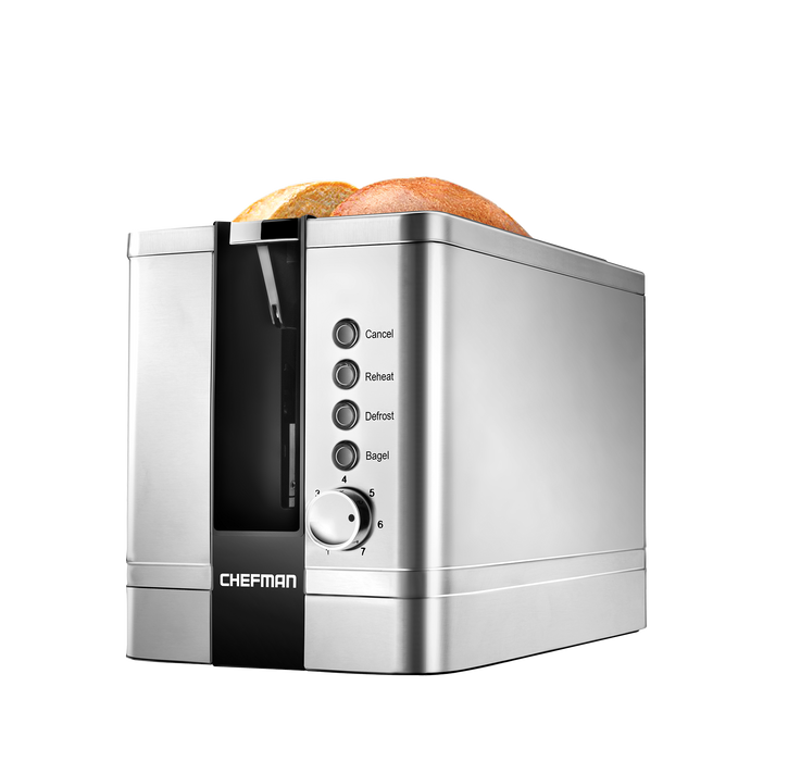 Chefman Stainless Steel Toaster - Off The Grid Collective