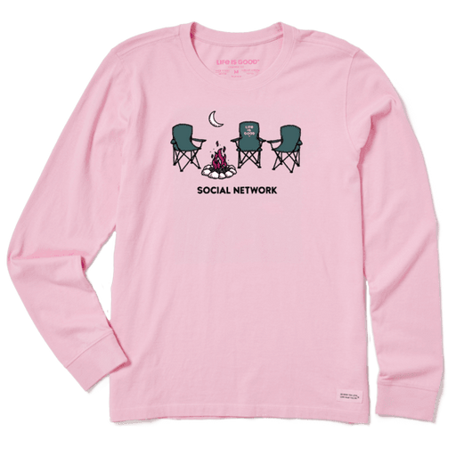 Social Network Camp Crusher Long Sleeve - Off The Grid Collective
