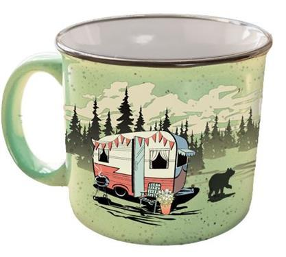 Camp Casual The Mug - Beary Green - Off The Grid Collective