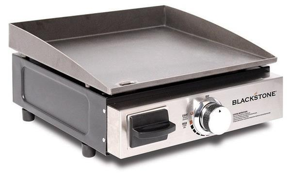 Blackstone 17'' Tabletop Griddle (with Stainless Steel Front Plate) - Off The Grid Collective