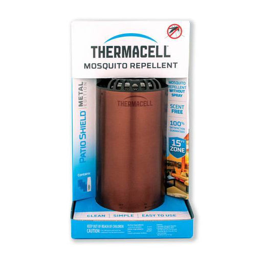 Thermacell Patio Shield Mosquito Repeller Metal Edition - Dark Bronze - Off The Grid Collective