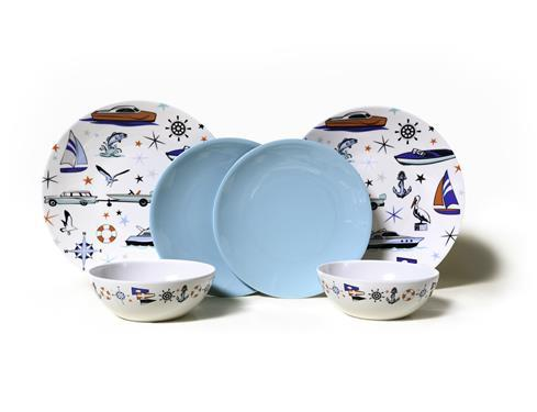Camp Casual Marine Melamine Dish Set - Off The Grid Collective