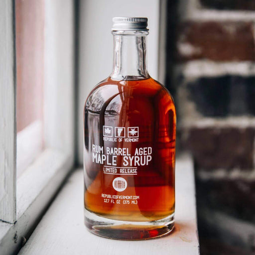 Republic of Vermont Rum Barrel Aged Organic Maple Syrup - Go Glamp RV