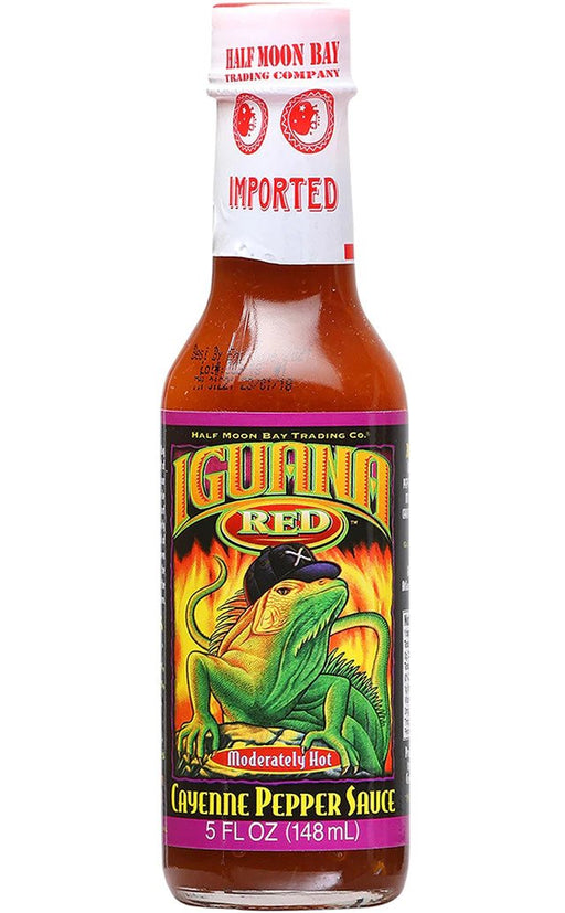 Iguana Red Cayenne Pepper Sauce - Off The Grid Collective