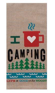 Kay Dee Designs Camp Towel - I Love Camping - Off The Grid Collective
