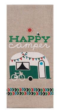 Kay Dee Designs Camp Towel - Happy Camper - Off The Grid Collective