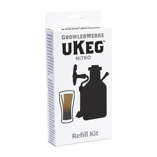 Growlerwerks Ukeg Nitro Refill kit with Gas and Filters - Off The Grid Collective