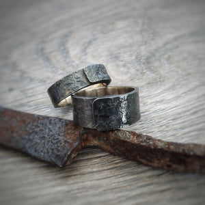 Black Rust Number 1 Ring