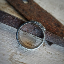 Load image into Gallery viewer, Black Rust Number 1 Ring