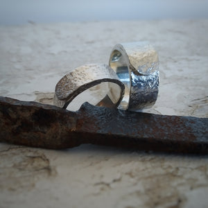 White Rust Number 1 Ring
