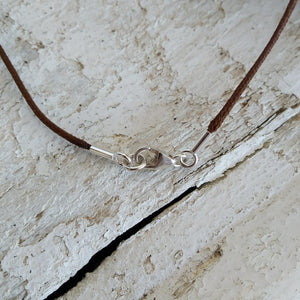 White Rust Number 3 - Pendant