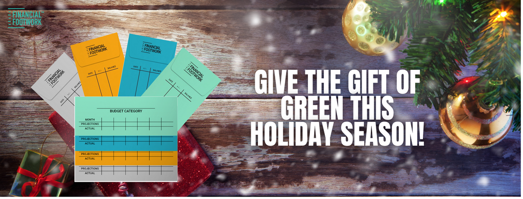 Give the Gift of Green Cash Envelopes