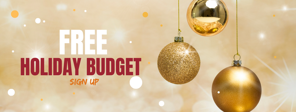 Free Holiday Budget Template