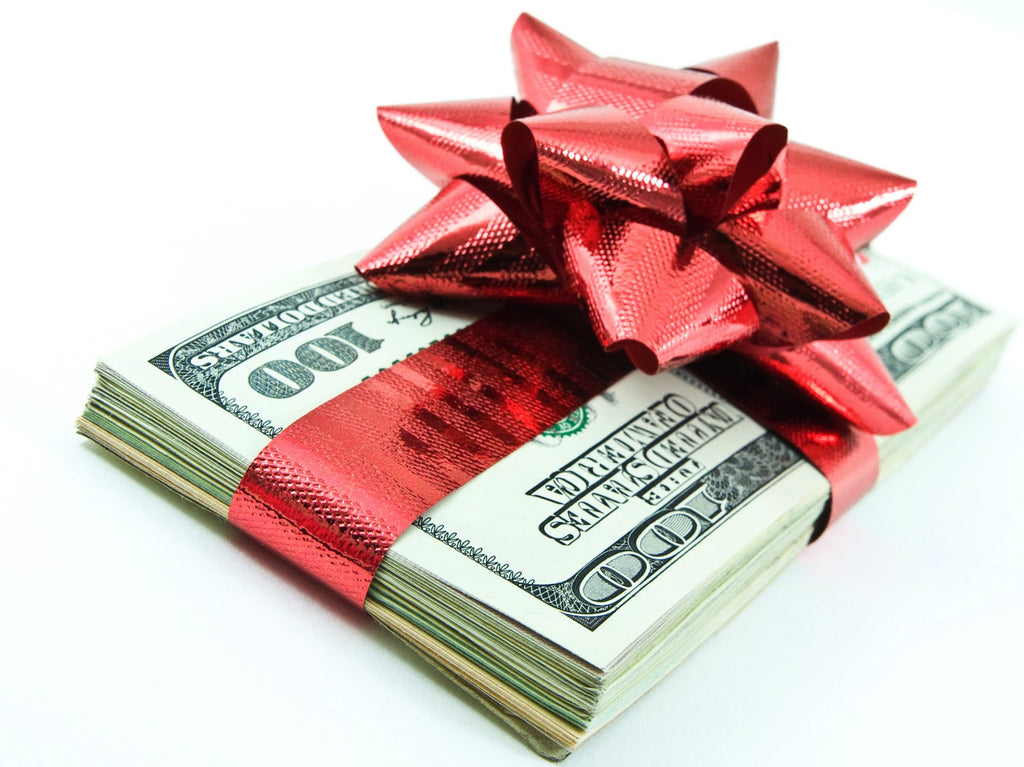Money in a Bow, Christmas Money Gifting