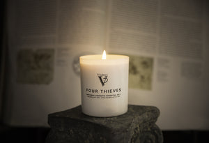 Pack of 3 Candles - 1 EVERGLADES, 1 BLACK ROSE and 1 FOUR THIEVES CANDLE