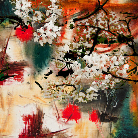 Cherry Blossom Acrylic Wall Art