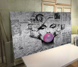 Marilyn Monroe Mix Media Wall Art