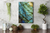 Leaf Pattern Wall Art - Metal Print