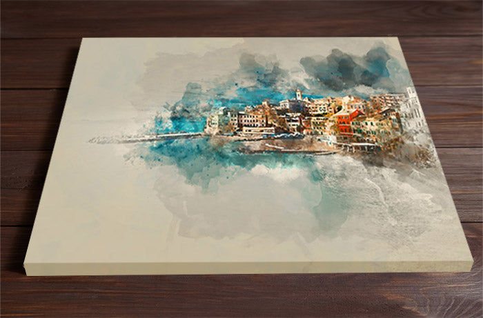 City by the Sea Wall Art