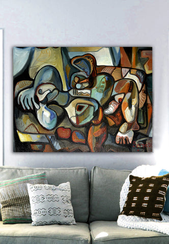 Dream of Love Serge Wall Art