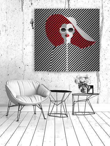 Fashion and Nothing Else Wall Art