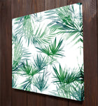 Green Leaves Wall Art