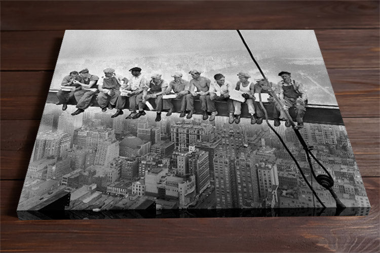 Lunch Atop a Skyscraper Wall Art