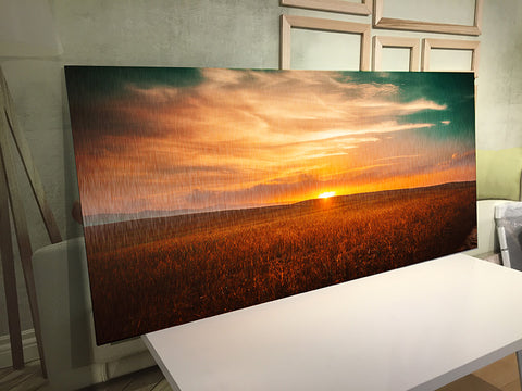 Sunset Wall Art - Metal Print