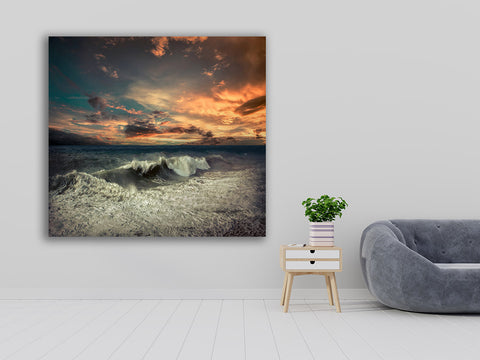 Striking Beach Scene Wall Art- Acrylic