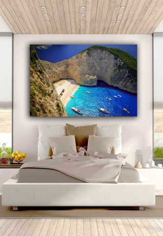 Navagio Beach Wall Art