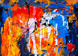 Passion in Colours Abstract Art