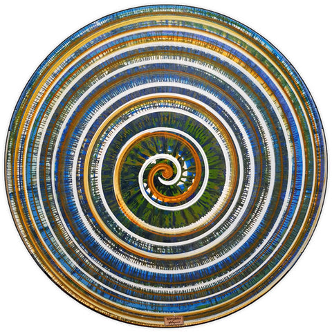 Round and Round (2) Circular Wall Art