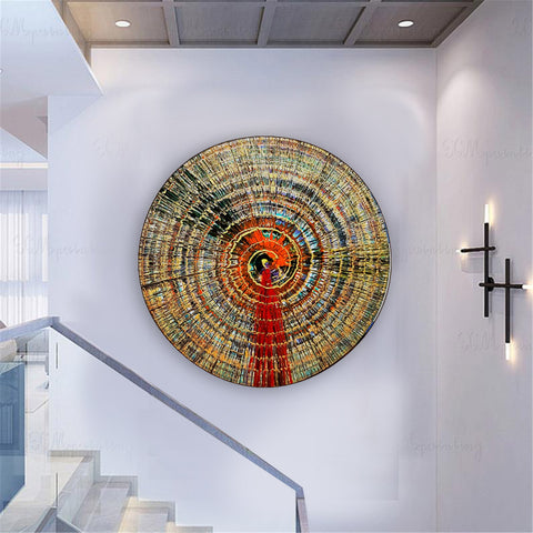 Round and Round Wall Art