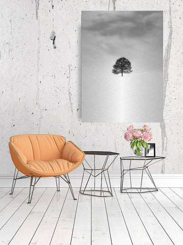 Solo Tree in the Field Wall Art
