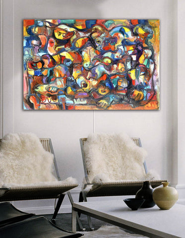 Story of Creations Serge Wall Art