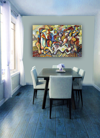 Symphony of Song Serge Wall Art