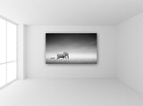 Elephant and Zebra Wall Art