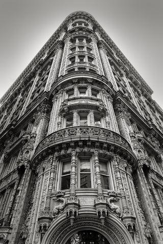 Iron Building, New York Wall Art - Metal Print
