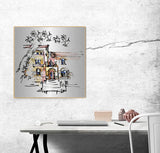 Enter My World Sketch Wall Art