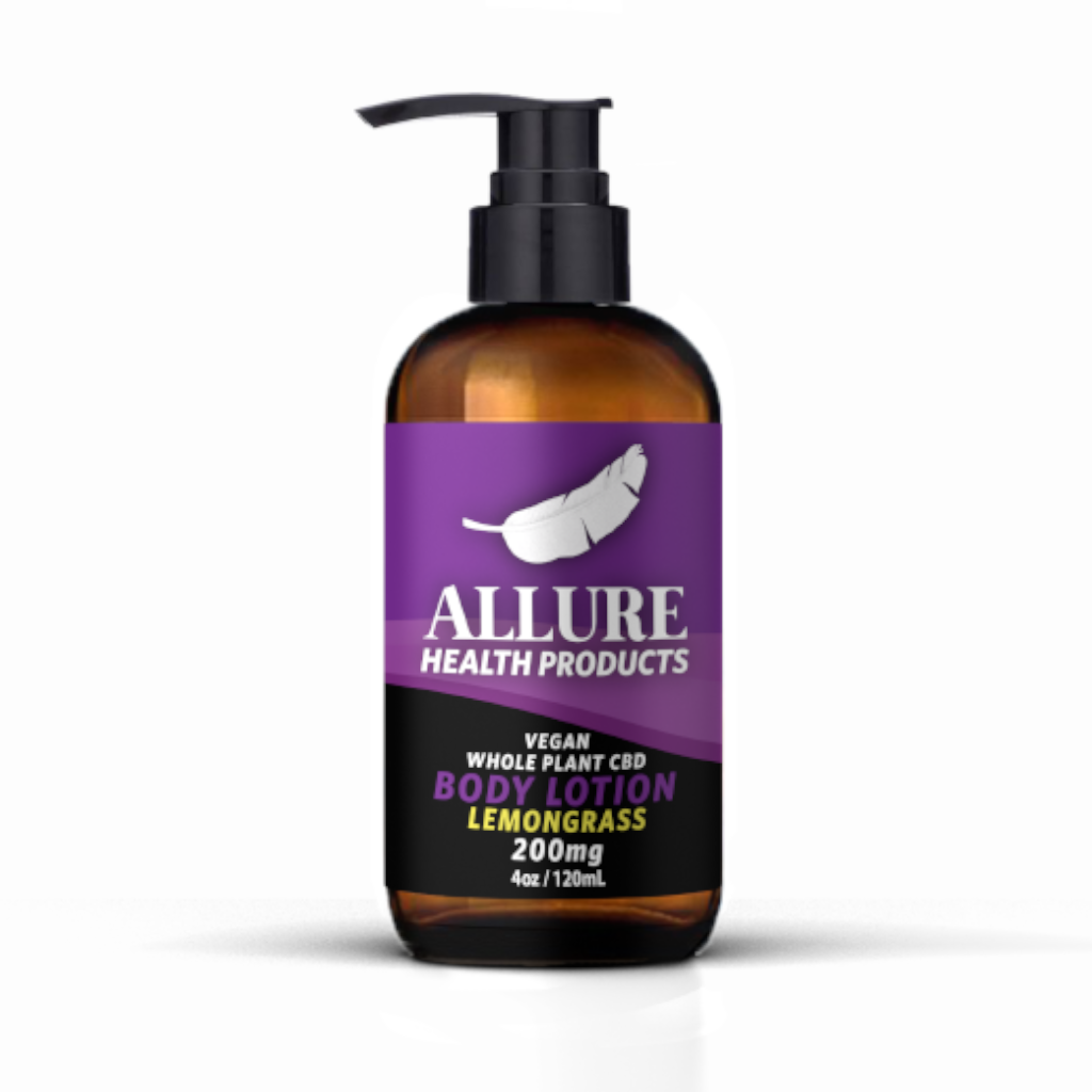 Allure Health - Full Spectrum Lotion - Lemongrass