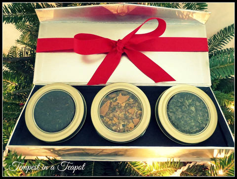 #1 - Christmas Gift Box - three tea blends