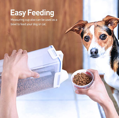 Easy Portable Pet Food Container