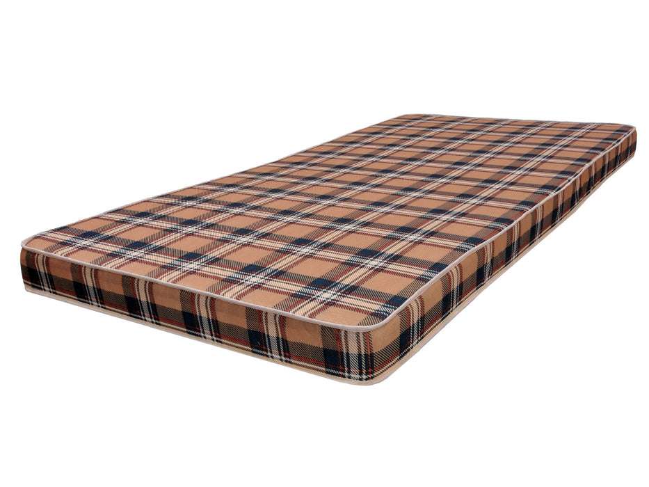 "Plaid Foam 4"" Mattress"