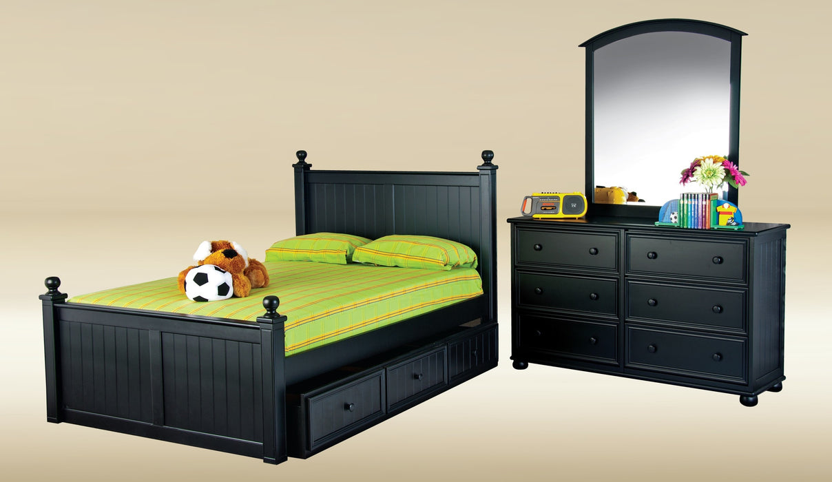 Riley Beadboard Bed