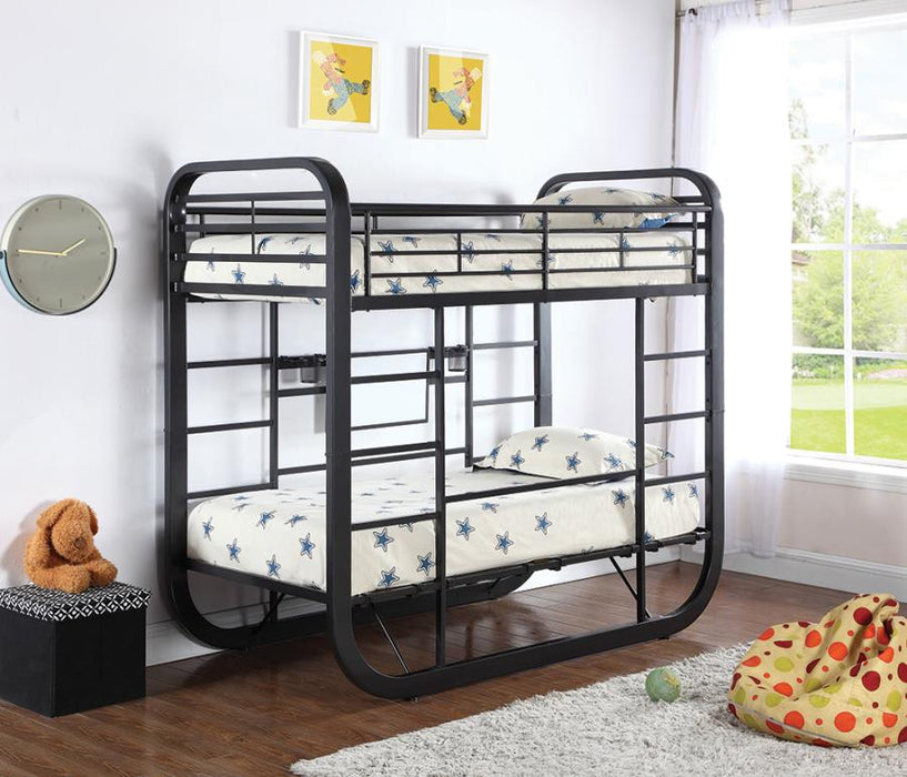 Archer Convertible Bunk Bed with Desk/Table