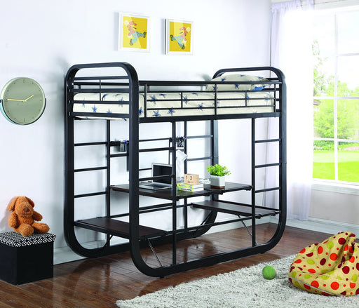 Archer Full Convertible Bunk Bed with Desk/Table