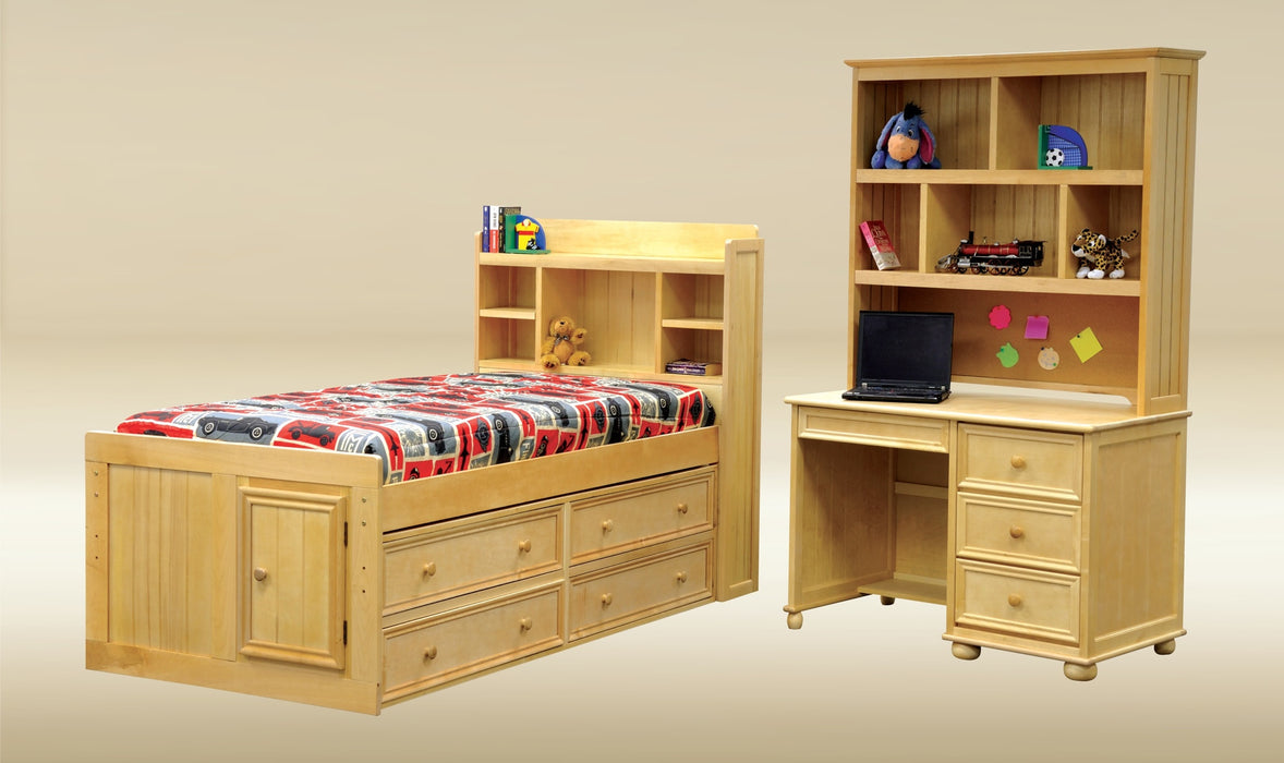 Captains Bookcase Bed